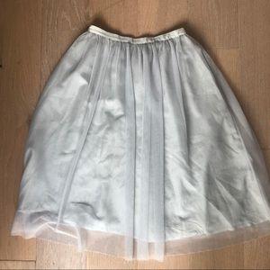 Zara Skirts - Zara Tulle midi skirt